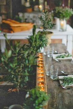 greige: interior design ideas and inspiration for the transitional home : Fall dinner party...
