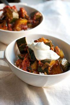 Zucchini & Tomato Curry