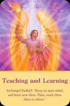 Orakelkaart: Leren en lesgeven