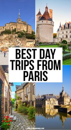 17 Best Day Trips From Paris You Shouldn't Miss <br> These are the best day trips from Paris and transportation directions are included! Taking a Paris day trip has never been easier or more enjoyable! Paris France Travel, Paris Travel Guide, Europe Travel Tips, European Travel, Paris Tips, Travel Pics, Paris Bucket List, Versailles, Malta
