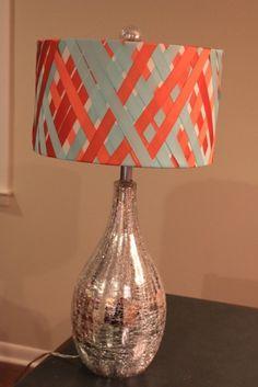 Nectar lamp shade half by rebecca asquith home design and ribbon lampshade httptipjunkiepostmakeover aloadofball Choice Image