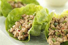 Turkey Lettuce Wrap...I heart every lettuce wrap ever invented!