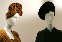 French-born Lilly Daché was the most celebrated milliner in the United States during the 1930s and 40s - a time during which hats were the centerpieces of a woman's wardrobe. Her wildly-creative hat designs were coveted by all fashion-minded females and touted as status objets by practically ever major movie star of the day, including Greta Garbo, Marlene Dietrich, Carmen Miranda, and Jean Harlow.