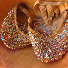 I'd love these as a slip on dance shoe for bellydance.  Actor clothing Neilos professional belly dance shoes dance shoes full crystal cinderella costume(China (Mainland))