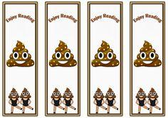 Emoji Bookmarks – Birthday Printable