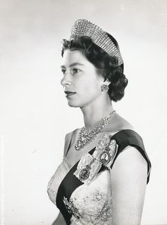 Queen Elizabeth II by Anthony Buckley modern bromide print from original negative, 1960 Hm The Queen, Her Majesty The Queen, Save The Queen, Queen Mary, Young Queen Elizabeth, House Of Windsor, Prince Phillip, Queen Mother, Princess Margaret