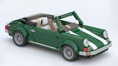 MOC Porsche for LEGO Creator 10242 Set