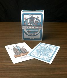 Explore Playing Cards - Printed by USPCC by Harris Soetikno — Kickstarter