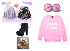 """Pastel goth"" by kyleigh-rodgers on Polyvore featuring Speed Limit 98"