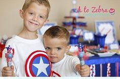 super hero party ideas | It's A Party-ful Life!
