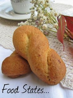 Κουλουράκια νηστίσιμα (αφράτα) Greek Sweets, Greek Desserts, Greek Recipes, Vegan Desserts, Dessert Recipes, Dessert Ideas, Food Network Recipes, Food Processor Recipes, Cooking Recipes