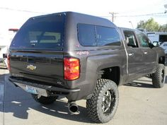 2013 Chevy Silverado 1500 with an ARE V Series camper shell | Camper Shells / Truck Caps | Chevy ...