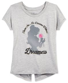 Disney's Beauty and the Beast Graphic T-Shirt, Big Girls (7-16)