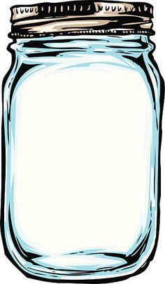 Colored Mason Ball Jar Clip Art - lots of colors Mason Jars, Mason Jar Crafts, Outline Images, Jar Art, Mason Jar Clip Art, Vintage Clip Art, Ball Jars, Printable Tags, Digital Stamps