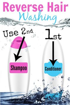 THIS DIY TIP..Reverse Hair Washing...Have We Been Washing Our Hair Wrong? Does This Work Really Work, by Barbie's Beauty Bits.