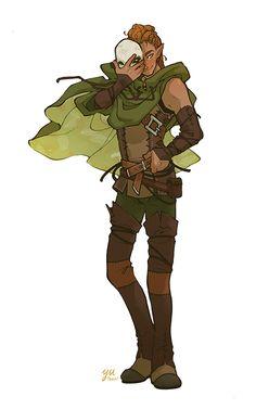 unmasked by Yutaan on DeviantArt Fantasy Character Design, Character Creation, Character Design Inspiration, Character Concept, Character Art, D D Characters, Fantasy Characters, Male Elf, Dnd Art