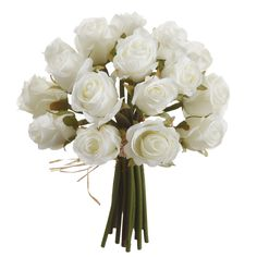 Celebrate your special event by using this beautiful rose bouquet. This impeccable rose bundle is perfect for the do-it-yourself wedding, shower or luncheon, with a fresh design that makes it easy to