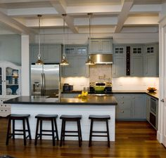 Hondros Cottage - traditional - kitchen - raleigh - by S Home Builders