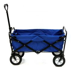 Mac Sports Mac Sports Colla-PSIble Folding Steel Frame Outdoor Garden Wagon, Blue Pack) at Lowe's. No more loading up your groceries like you're the Hulk when you have the Mac Sports Collapsible Garden Utility Wagon to give you an extra hand. Folding Wagon, Folding Cart, Rolling Utility Cart, Beach Wagon, Beach Cart, Wheelbarrow Garden, Steel Frame Construction, Garden Cart, Camping Accessories
