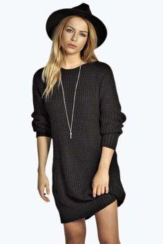 Maria Soft Knit Jumper Dress at boohoo.com