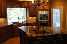 Honed Absolute Black Granite Countertops Knockoff For
