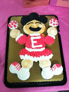 Cheer Party cupcake cake from Frys Foods.