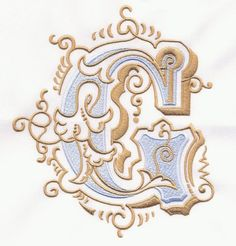 Vintage Royal Alphabet & Accent Designs (2013 Alphabets)