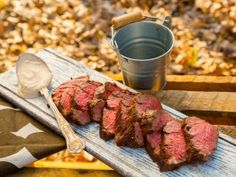 Get Mustard-and-Garlic Roast Fillet of Beef with Creamy Peppercorn Sauce Recipe from Cooking Channel Beef Fillet Recipes, Roast Fillet Of Beef, Beef Recipes, Healthy Recipes, Roast Beef, Healthy Foods, Healthy Eating, Creamy Peppercorn Sauce, Graham Recipe