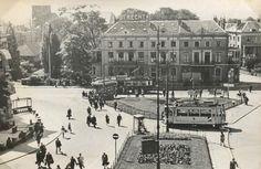 Foto 1: Arnhem, Stationsplein, 21 juli 1944.