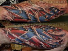 Rebel Flag Tattoos | rebel flag - Tattoo Artists.org