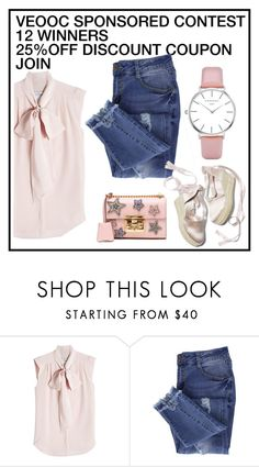 """""""VEOOC SPONSORED CONTEST!"""" by nataly212 ❤ liked on Polyvore featuring MaxMara, Essie and Gucci"""
