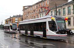 TVZ low-floor trams enter service in Russian city of Tver