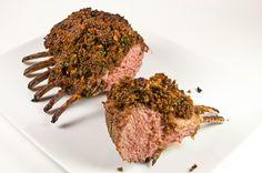 Thomas Keller's Herb Crusted Rack of Lamb With Honey Mustard Glaze