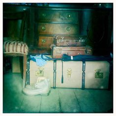 That day that he had come home early, Oh! He could not stand to think of it! His eyes grew hot at the memory. ~ Scenes From The Moth House Describe Yourself, His Eyes, Moth, Suitcases, House, Painting, Collection, Home Decor, Decoration Home