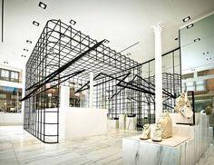 Alexander Wang flagship store by Kramer Design Group, New York   Soho: