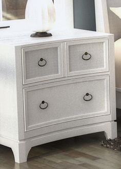 Best For Guest Room View Ameriwood™ Federal White Night Stand 400 x 300