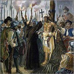Pizarro executes Atahualpa