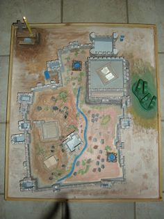 Beautiful Map of Jerusalem!    Come to See: Catechesis for Good Friday