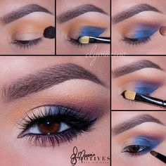 """The beautiful#MotivesMaven @elymarino did it again! She used the brand new Dynasty Palette colorful look _____________ 1.Begin by applying """"Venus"""" onto the crease and blend 2.Taking """"Aphrodite"""" apply to the outer corner of the eyes and bringing it onto the lid stopping half way! Being careful not to bring it in the crease 3.using """"Electra"""" blend the outer edges of """"Aphrodite"""" until you have a smooth transition 4.Pat """"Theia"""" onto the first half of the lid 5.Line the water line using """"LBD"""" Gel…"""