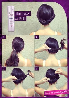 Tiring of your go-to bun? Try the Gibson roll. #RightEnd