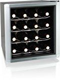 #5: Culinair AW162S Thermoelectric 16-Bottle Wine Cooler Silver/Black