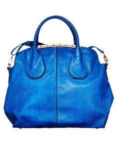 The only other way to get a bag this luxe for so little is soo not legal. Bag, $39.95; shoedazzle.com