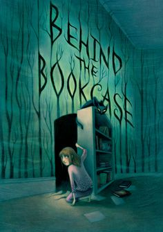 Google Image Result for http://www.kelmurphy.com/images/kelly-murphy-behind-the-bookcase-1.jpg