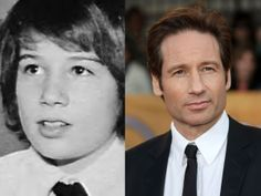 David Duchovny Celebrities Then And Now, Young Celebrities, Happy 55th Birthday, David And Gillian, Attracted To Someone, Yearbook Photos, David Duchovny, As Time Goes By, Gillian Anderson