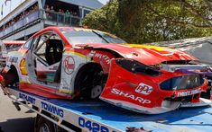 Bathurst-winning car won't race again T Race, Armor All, S Car, Running Gear, Gold Coast, Ford Mustang, Super Cars, Two By Two, Racing