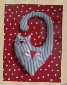 Handmade Fabric Cat Heart Door Hanger Decoration. Mother's day , Easter in Home, Furniture & DIY, Home Decor, Other Home Decor | eBay