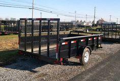 PRE-OWNED! (2011) Big Tex 6.4 x 12 Landscape Utility Trailer – Ramp Gate