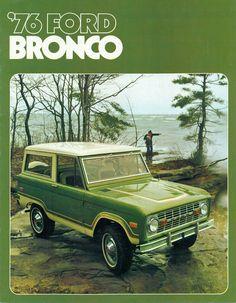 chromjuwelen: (via All sizes | 1976 Ford Bronco 4X4 SUV | Flickr - Photo Sharing!)