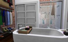 Master Bath Walk-in Closet - Industrial Loft   19 Culpepper House, Spice Market   San Myshuno.