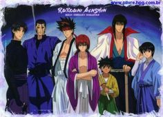 The Guys of Rurouni Kenshin / Samurai X